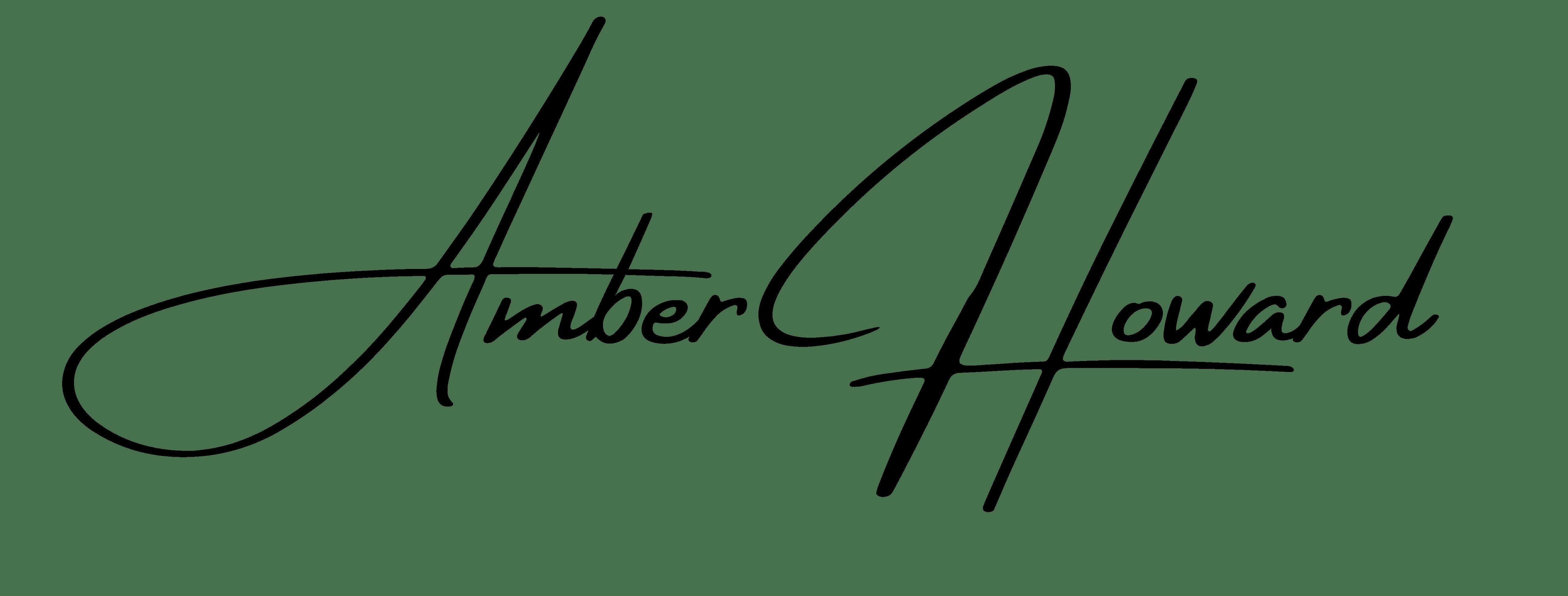 Amber Howard signature